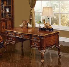 Walnut home office furniture Wood Desk Exeter Executive Desk Shown In Antique Walnut Finish Savannah Collections Exeter Executive Desk Desk Home Office