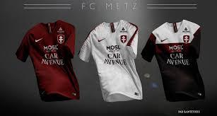 Bienvenue sur la page facebook officielle du football club de metz. Saintetixx On Twitter Fc Metz Kit Redesigned Fcmetz Fcm Grenats Graoully Ligue2