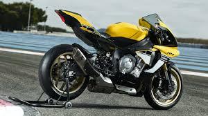 yamaha yzf r1 yellow black 2016