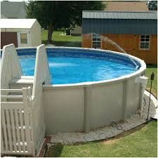 above ground swimming pool ideas. Home Design:Rectangular Above Ground Swimming Pool New Ladders For Ideas R