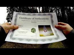 Certificate Of Authenticity For Paintings Youtube
