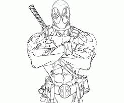 Small Picture Printable deadpool coloring pages ColoringStar