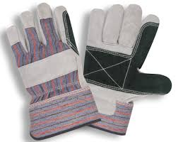 picture of double leather palm gloves dozen