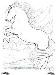 Printable Coloring Pages Clydesdale Horses Bltidm