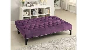 cooper purple velvet futon