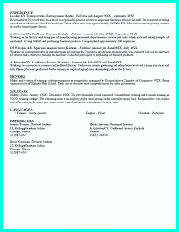 Current College Student Resume Is Designed For Fresh Graduate