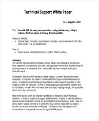 Free White Paper Template Sample White Paper Magdalene Project Org