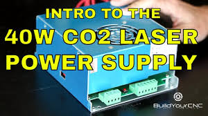 How to use a <b>CO2 Laser Power Supply</b> - YouTube