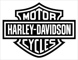 large harley davidson wall sticker tags