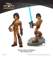 infinity 3 0 characters. disney infinity ezra concept art with final figure 3 0 characters