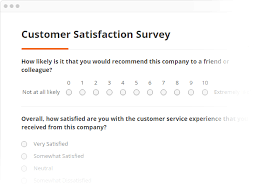 Job Satisfaction Survey Template Interesting SmartSurvey Online Survey Software Questionnaire Tool