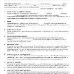 Blank Rental Agreement Template Printable Rental Agreement Template ...