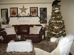 Living Room Christmas Decorating Western Living Room Furniture Decorating Red And Neutral