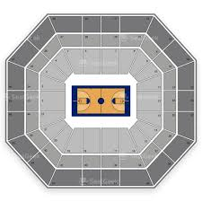 Boise State Broncos Basketball Seating Chart Map Seatgeek