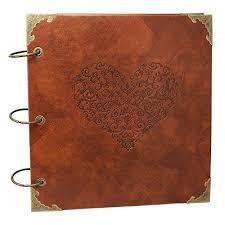 xiduobao retro leather photo al special sbook diy anniversary sbook al vine photo al love heart wedding al