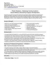 Venture Capital Resume