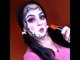 porcelain doll tutorial easy makeup tutorials evil