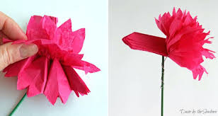 How To Make Rose Flower With Tissue Paper How To Make A Rose Out Of Tissue Paper How To Make Paper