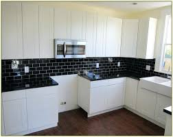 black and white kitchen tiles best your home improvements using ceramic subway tile with white cabinet black and white kitchen tiles