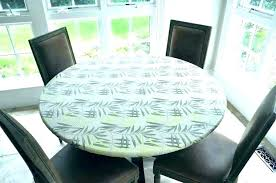 round plastic tablecloths with elastic round vinyl tablecloths with elastic plastic elastic table covers vinyl table