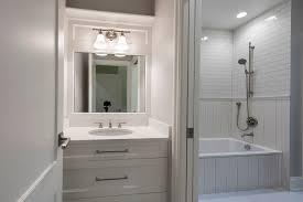bathroom vanity transitional style custom home glenview haus custom doors wine cellars
