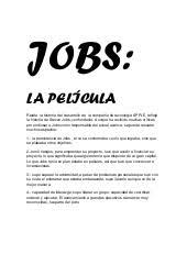 Steve Jobs Resumen De La Pelicula A Good Resume Example