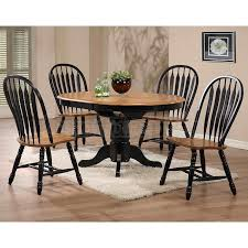 impressive black dining room set round with the deakin extending 2 leaf dining table oak dining