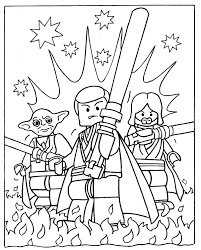 Free Printable Coloring Pages Lego Star