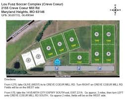 Lou Fusz Soccer Complex - St Louis Youth Soccer