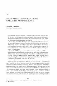 excellent ideas for creating music appreciation paper like music ethnography and the sociology of music you will get a dedicated personal writer who you can contact directly by using our messaging system