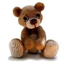 Crochet Teddy Bear Pattern Mesmerizing Free Crochet Teddy Bear Pattern Crochet Ideas Pinterest