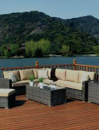 outdoor furniture wicker. Wicker Patio Furniture Home A Outdoor Bay Shore Collection Porch Cushions U