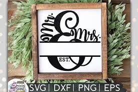 Comes in 6 file formats: Mr Mrs Split Monogram Frame Svg Dxf Png Eps 45073 Svgs Design Bundles
