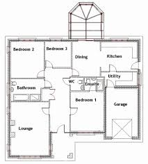 50 lovely image three bedroom bungalow house plans kenya