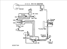 vacuum hose diagram for a 1992 toyota 4runner v6 3 0liter graphic