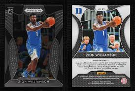 The official athletic site of the fighting irish. 2019 20 Panini Prizm Draft Picks Zion Williamson 64 Rookie Ebay
