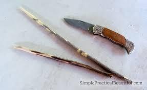 diy harry potter wands simple