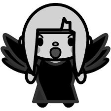 かわいい堕天使の無料イラスト商用フリー オイデ43