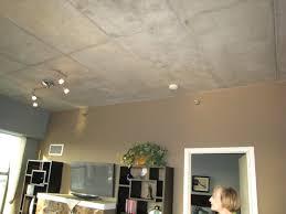 apartment concrete ceiling exposed finish light fixture installing in lighting ideas solutions for ceilings recessed condo