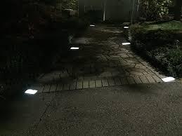 Brick Paver Lights Amazon Com 4 Inch X 8 Inch Solar Brick Paver Landscape