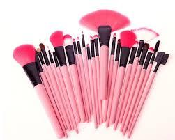 make up for you brand pink makeup brushes set kits 24pcs makeup brush set professional brushes for makeup makeup tools in makeup scissors from beauty
