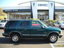 1998 Dark Green Metallic Chevrolet Blazer LS 4x4 #20998605 Photo ...