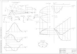 Теория машин и механизмов курсовая работа Чертеж лист 1