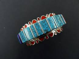 vernon haskie native american pottery native american jewelry turquoise cuff navajo jewelry