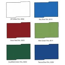 Color Shade Chart Roofmax Chennai Manufacturer Service