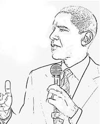 Small Picture barack obama coloring page printable Syougitcom