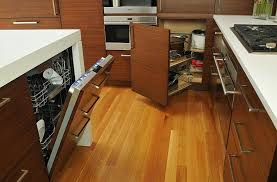 kitchen wood furniture. Beat Those Hard Angles With Smart Kitchen Pullout Drawers [Design: The Studio Of Wood Furniture