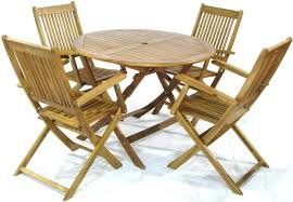 table luxury outdoor and chairs 19 4 person acacia hardwood set outdoor table and chairs round