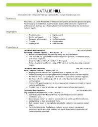 call center sales resumes customer service representative resume sample monster pertaining