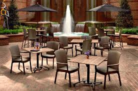Espresso Bar Height Tables and Chairs